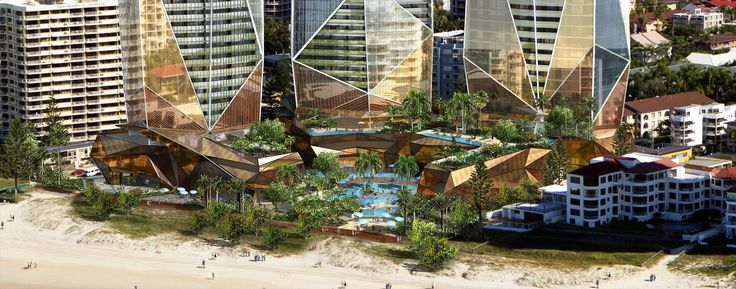 Jewel is a proposal for a mixed use development containing a five star plus international hotel, serviced apartments, residential development and ancillary uses including restaurants, function facilities, conference centre and supporting resort amenities. www.dbidesign.com.au
