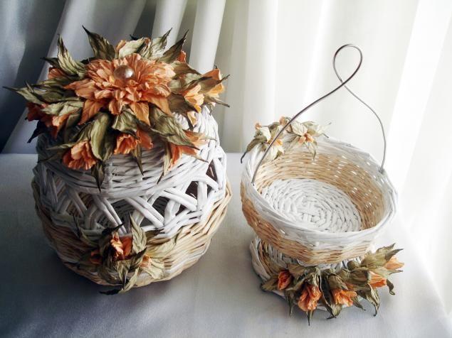Очень красивые цветы из бумаги. Автор interjer-fresh (Olivka-f)