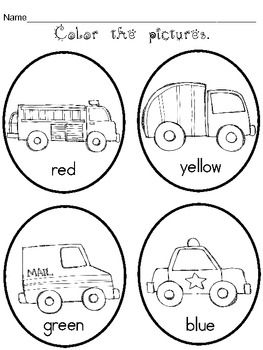 1000+ images about Preschool worksheets on Pinterest | Coloring ...