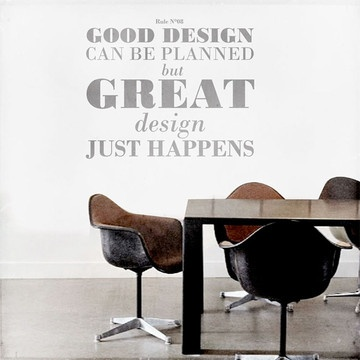 Design rule no 8 decal 94€ now featured on fab