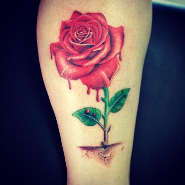 rose that grew from concrete tattoos pinterest concrete tattoo and tatting. Black Bedroom Furniture Sets. Home Design Ideas