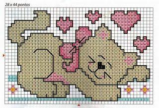 Παιδικά σχέδια για κέντημα - children cross stitch patterns