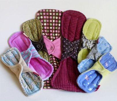 diy para chicas fabrica en casa toallas femeninas ecolgicas