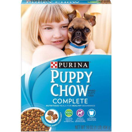 Purina Puppy Chow Complete Puppy Food 16-Ounce Box
