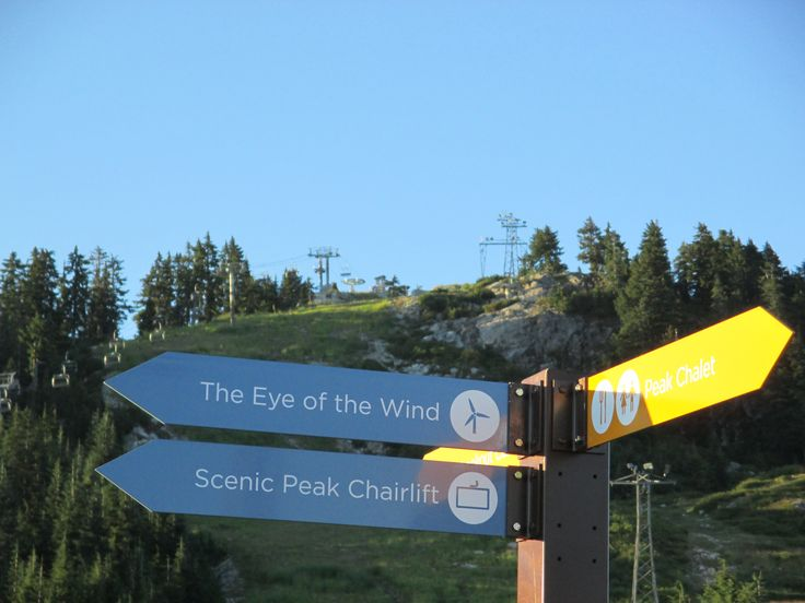 Grouse Mountain, North Vancouver, BC, Canada, Summer