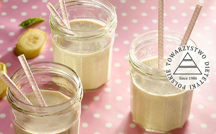 Pozytywnie zakręcone bananowe smoothie. Kuchnia Lidla - Lidl Polska. #lidl #dzieci #smoothie #banan