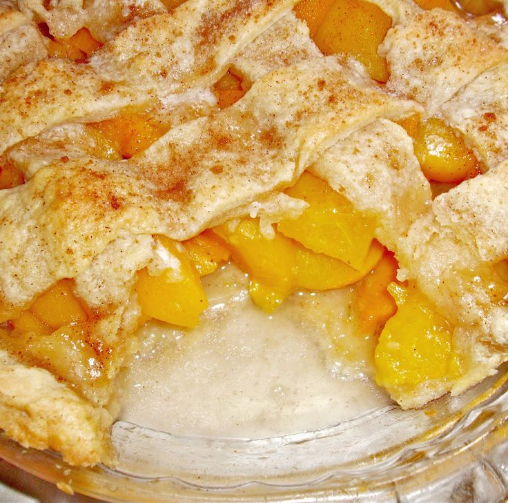 Old Fashioned #Homemade #PeachCobbler - Bubbling, Buttery, Sweet, Juicy Peach Cobbler!