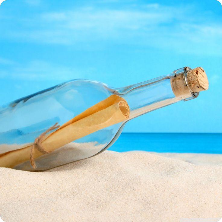 Message in bottle… «Φύγαμε για διακοπές!»