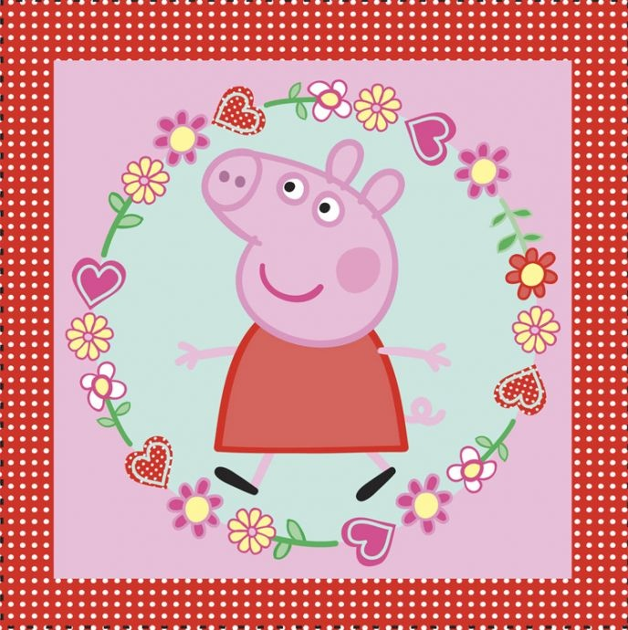 Peppa pig - we love peppa!
