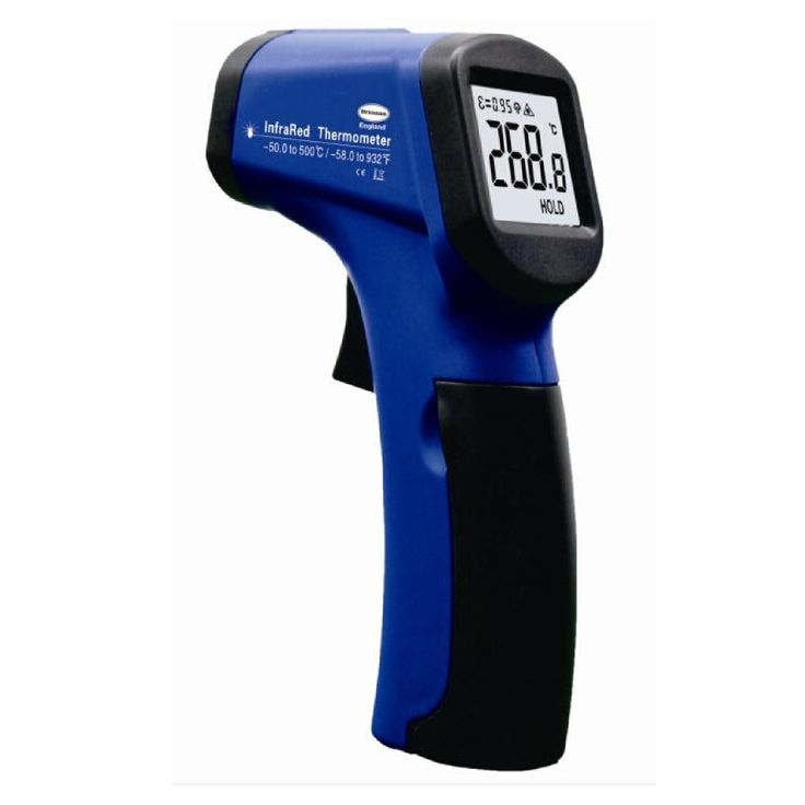 Compact Hand Held Infrared Thermometer -50 to 500 C&F
