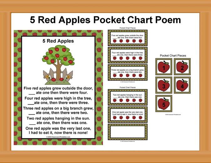 Kindergarten Calendar Pocket Chart : Best printable activities images on pinterest