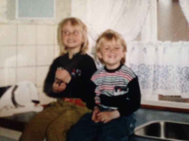 My brother and I (1992/3)