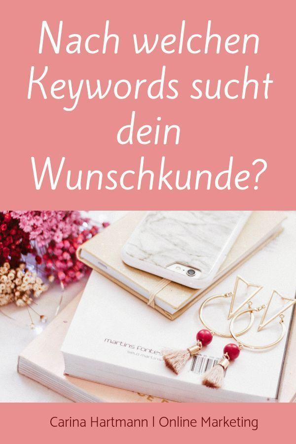 Keywords Warum Du Dich Damit Beschaftigen Musst Carina Hartmann Online Marketing Tipps Erfolgreich Bloggen