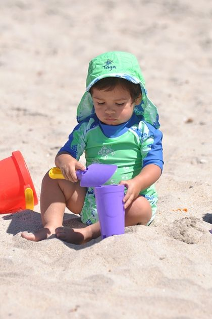 July is UV Safety Month!  Teach young kids, family and friends about the importance of protecting one's skin. Read more on the Tuga Sunwear Blog. #UVSafety #kids #skinprotection #tugasunwear