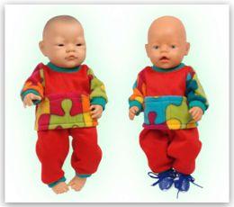 Site met leuke - zelfgemaakte & betaalbare - poppenkleding voor Baby born