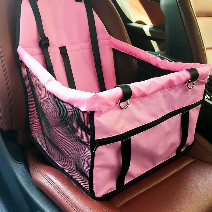 Top quality Foldable pet carrier dog bag for small dogs Waterproof Safety Front Back Seat Dog Cat Car Hammock Carrier Basket