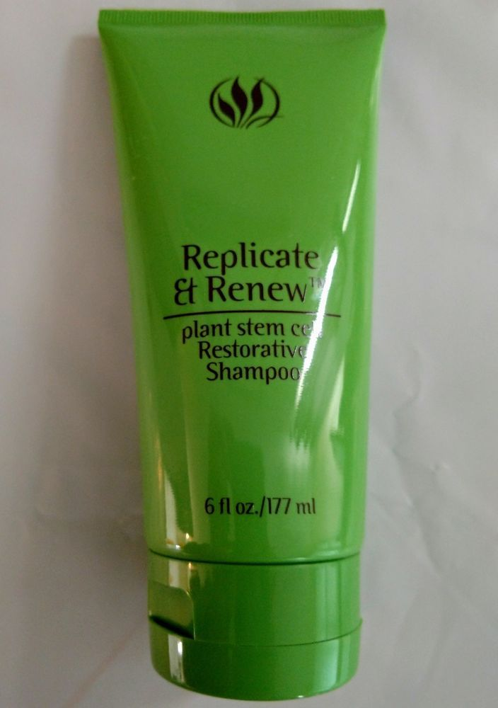 Serious Skincare Replicate and Renew Plant Stem Cell Restorative Shampoo Volume #SeriousSkincare