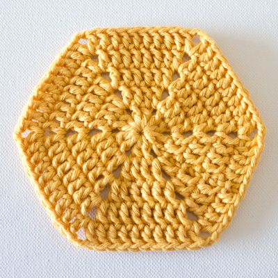 Crochet Fundamentals: How to Crochet a Hexagon