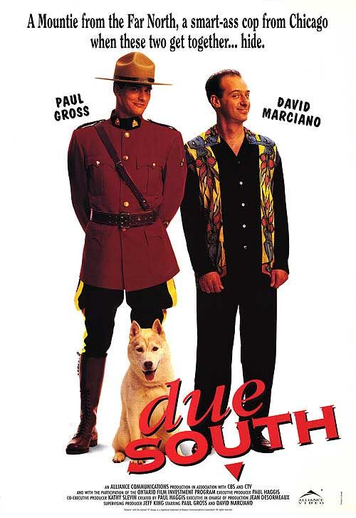 Due South one of the best tv shows ever.