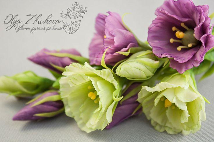 ceramic floristry, cold porcelain, polymer clay flowers*керамическая флористика, холодный фарфор, цветы из полимерной глины