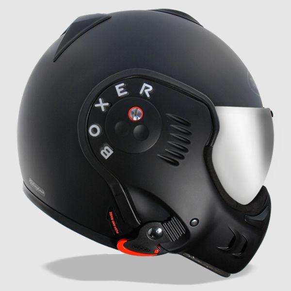 Roof Boxer V8 Black Shadow Helmet | Motorcycle helmets | Roof Motorcycle helmets | way2speed.com