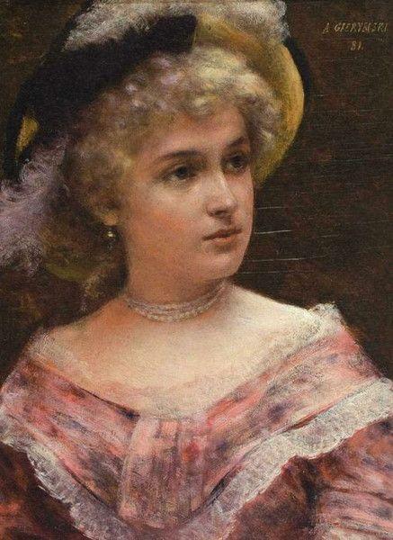 Aleksander Gierymski, Lady Rococo
