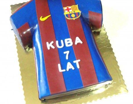 Torty dla dzieci - Cukiernia Gateau Tort koszulka piłkarska #koszulka #Piłkarska #cake, #tort, www.cukierniagateau.pl