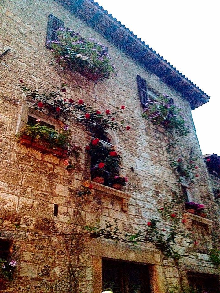 Old town Porec, Croatia . Beautiful Istria county