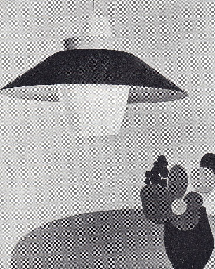 Ca. 1960, Jørn Utzon for Raak lighting...