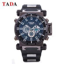 Top Luxury Brand TADA Sports Military Watch Digital Quartz Dual display Mens Watches Male Wrist Watch Clock  Relogio Masculino(China (Mainland))
