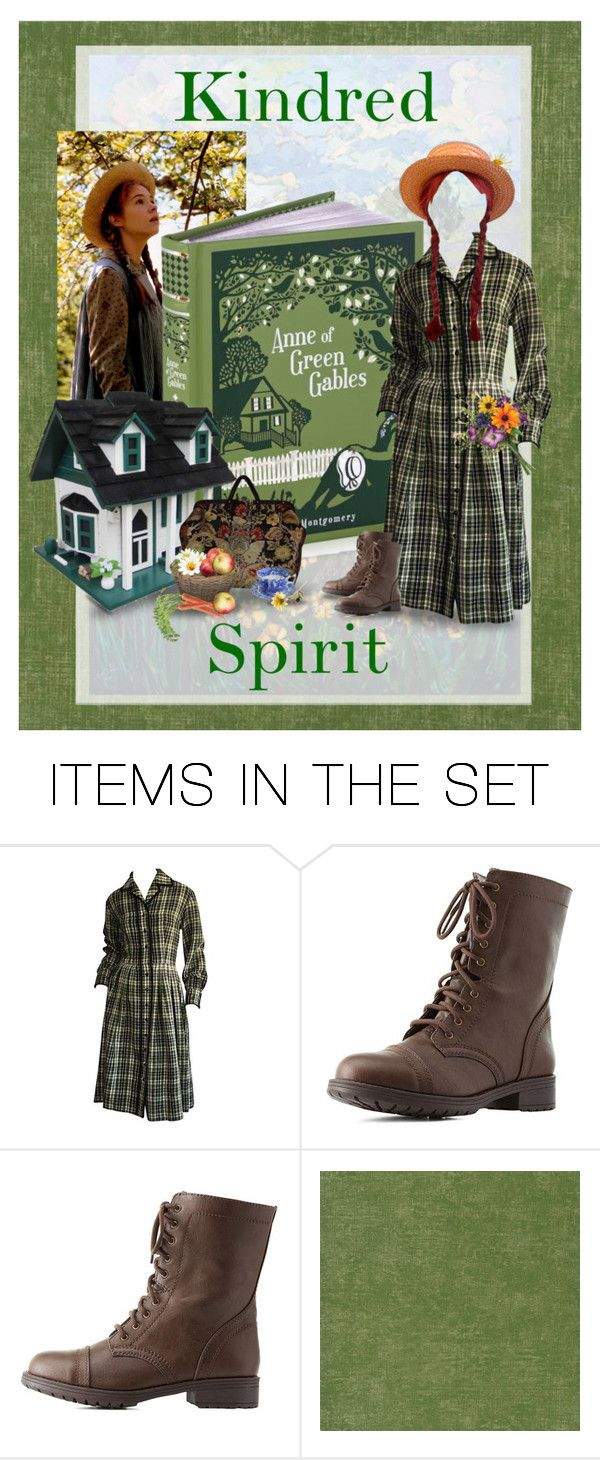 """Anne of Green Gables by Lucy Maud Montgomery"" by kbarkstyle ❤ liked on Polyvore featuring art"