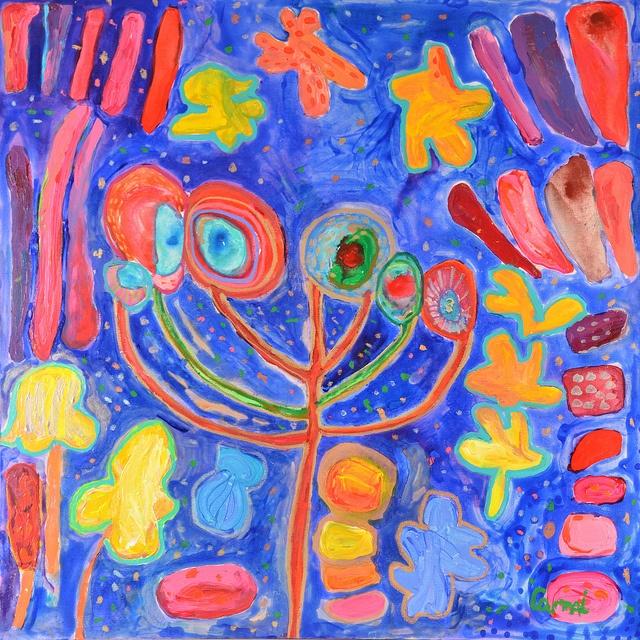 Obra: Hojas, piedras y flores Artista: Camila Hernández Zoom al Paisaje