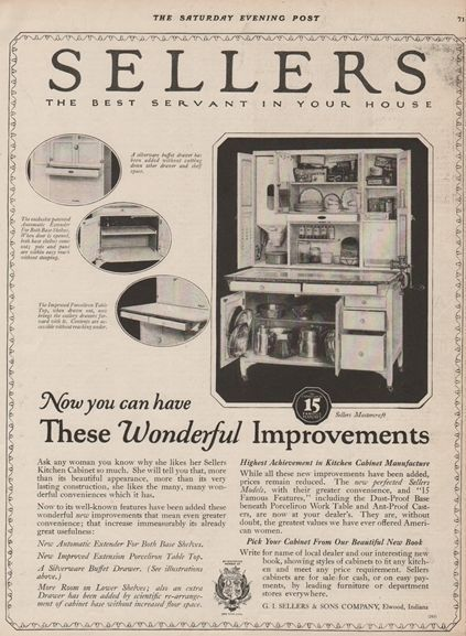 Kitchen Cabinets Ideas sellers kitchen cabinet history : 17 Best images about Sellers / Hoosier cabinets on Pinterest ...