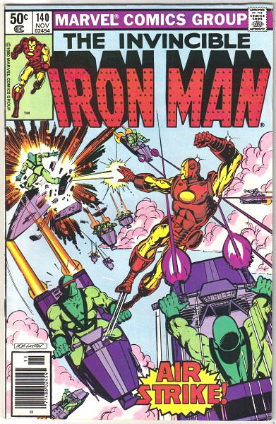 marvel comics 1980 | Details about Iron Man Comic Book #140, Marvel Comics 1980 VERY FINE-