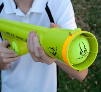 K9 Kannon is a tennis ball launcher for endless fun for your ball crazy dog!