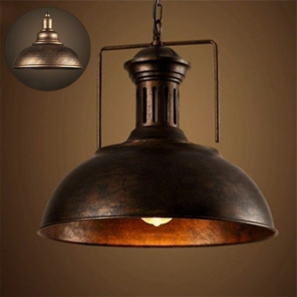 Vintage Retro Industrial Ceiling Chandelier Light High Quality