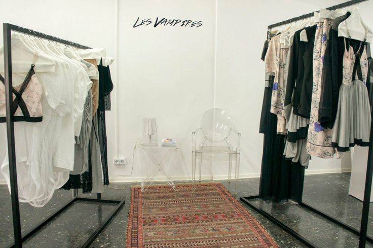 Spring/Summer '13 Collection, Les Vampires - Interior Display at EVA - Design Românesc; styling by 109