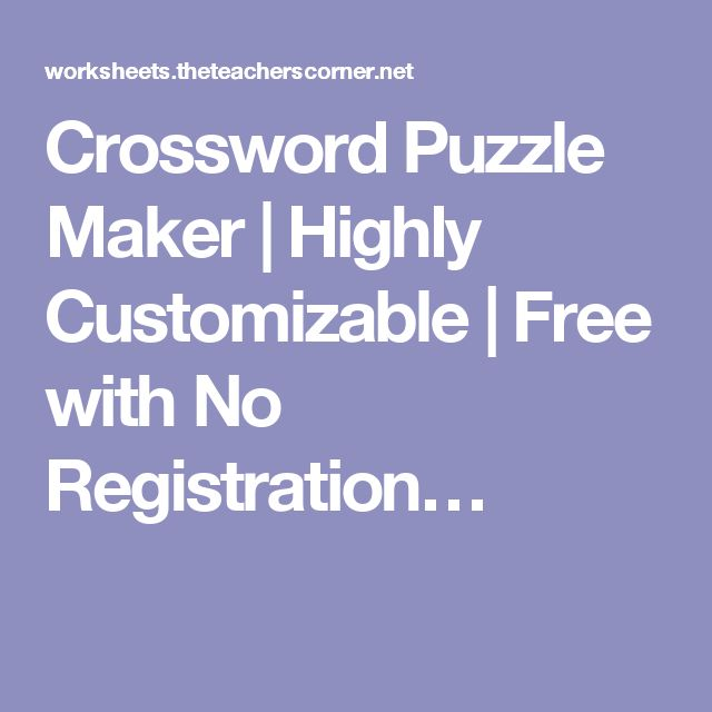 how to create a crossword puzzle in microsoft word