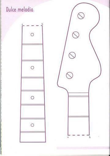 Como hacer una guitarra de tela con moldes01