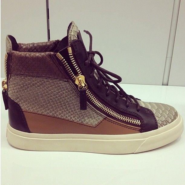 Givenchy, Saint Laurent, Giuseppe Zanotti,  Balmain - 2014 Men Women Fashion Trends Online: Giuseppe Zanotti Men's Sneakers