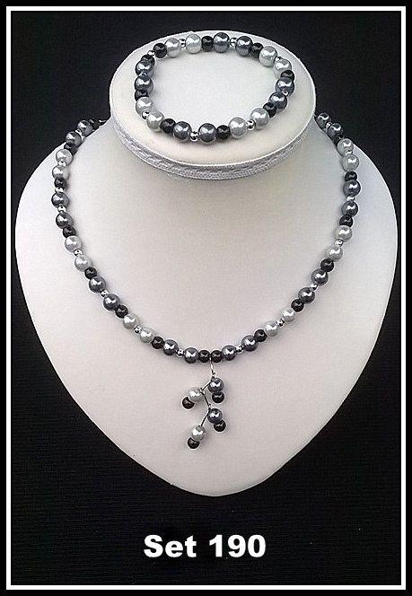 handgemaakte halskettingen met metalen sluiting
