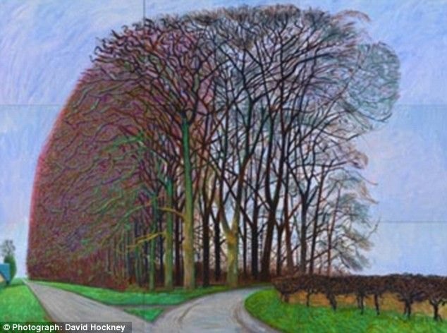 David Hockney, Yorkshire landscape