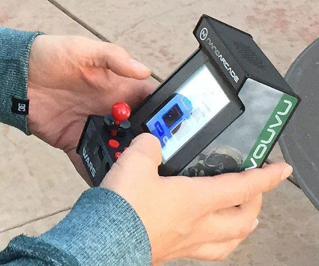 World's Smallest Arcade Gaming System - https://tiwib.co/worlds-smallest-arcade-gaming-system/ #GamerStuff #gifts #giftideas #2017giftideas #xmas
