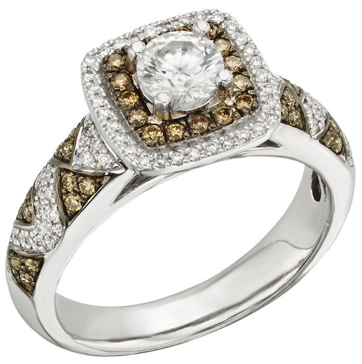Diamoire Jewels Round Cut Swarovski Zirconia Solitaire Ring in 10Kt Yellow Gold - UK U - US 10 1/4 - EU 62 3/4 uSU2keb