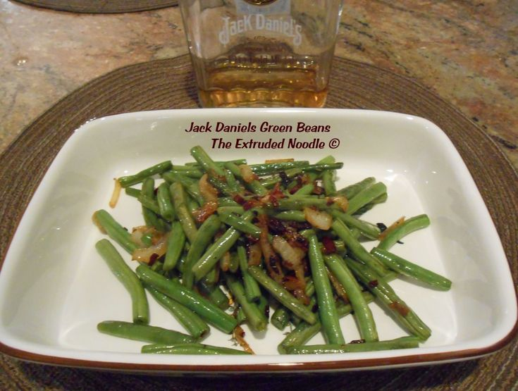 Jack Daniels Green Beans The Extruded Noodle 005a