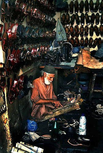 Shoemaker . Karachi Pakistan