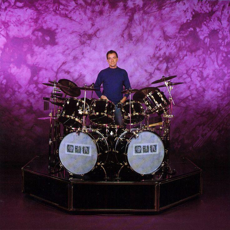 Neil Peart Presto drums