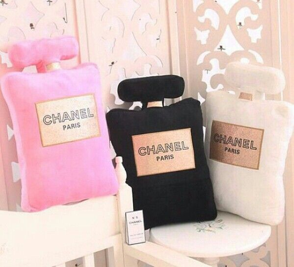 Chanel pillows