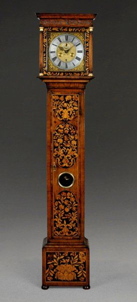 An Eight Day Marquetry Longcase Clock by Robert Fenn of London