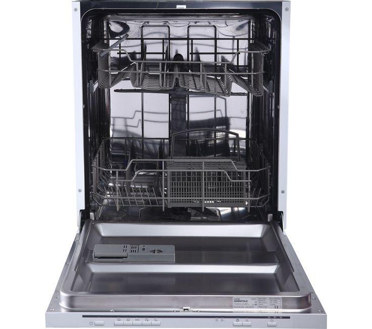 ESSENTIALS CID60W16 Full-size Integrated Dishwasher